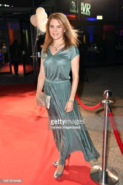 Actress Silke Popp during the 8th German Director Award Metropolis at HFF Munich at HFF Muenchen on November 4 2018 in Munich Germany
