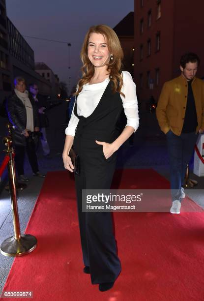 Actress Silke Popp during the NdF after work press cocktail at Parkcafe on March 15 2017 in Munich Germany