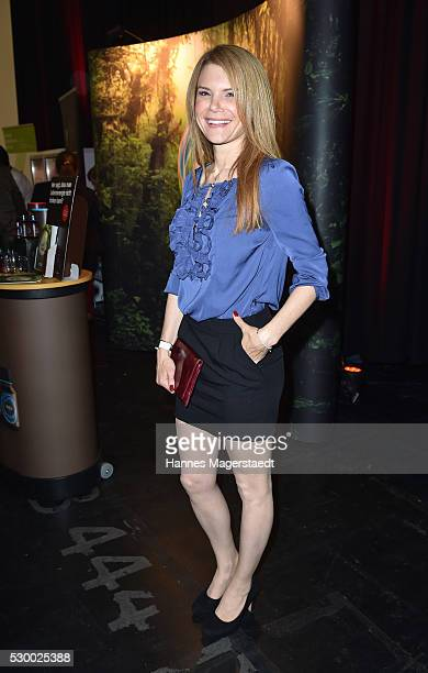 Actress Silke Popp during the VDMD Secret Fashion Show at ars24 on May 9 2016 in Munich Germany