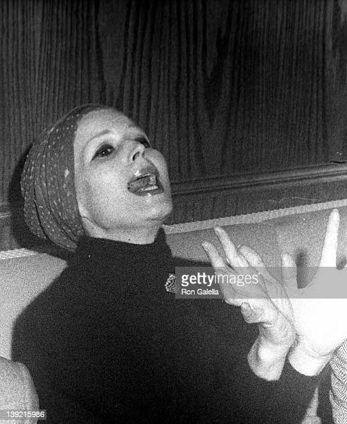 Actress Silvana Mangano attends the grand opening of Hippopotomus II on December 22 1972 in New York City