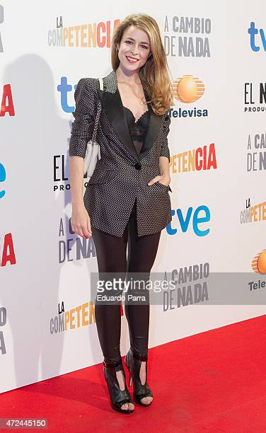 Actress Silvia Abascal attends 'A cambio de nada' premiere at Capitol cinema on May 7 2015 in Madrid Spain