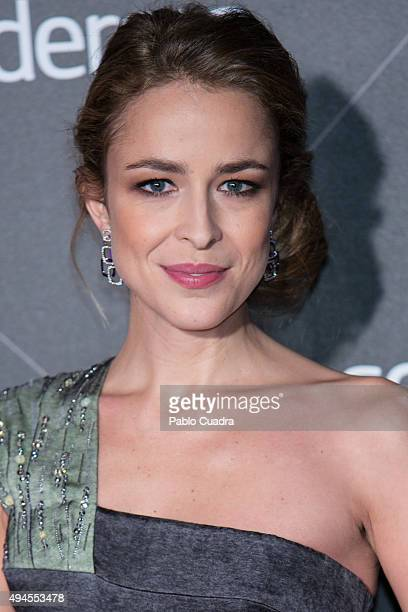 Actress Silvia Abascal attends VIII Cosmopolitan Fun Fearless Female Awards at Ritz hotel on October 27 2015 in Madrid Spain