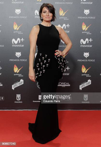 Actress Silvia Abril attends Feroz Awards 2018 at Magarinos Complex on January 22 2018 in Madrid Spain