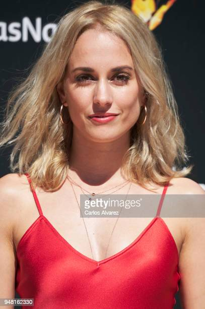 Actress Silvia Alonso attends 'Hacerse Mayor y Otros Problemas' photocall during the 21th Malaga Film Festival at Albeniz cinema on April 18 2018 in...