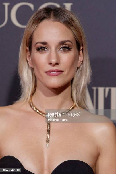 Actress Silvia Alonso attends 'Personality of the Year' Awards at Royal Theatre on September 26 2018 in Madrid Spain