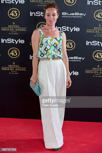 Actress Silvia Marty attends the 'Live in Colors' photocall during the InStyle Beauty Day at the Miguel Angel Hotel Garden on May 19 2016 in Madrid...