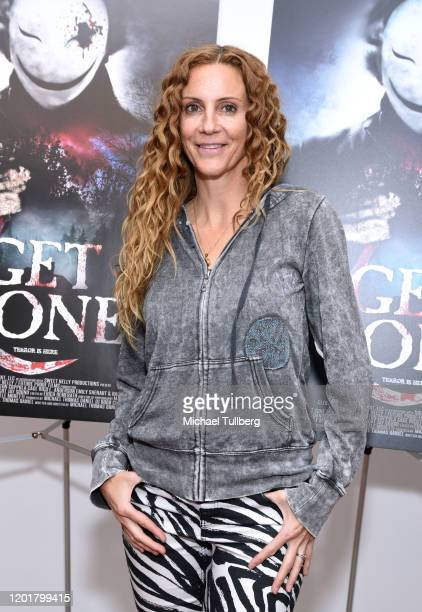 Actress Silvia Miano Spross attends the premiere of Get Gone at Arena Cinelounge on January 24 2020 in Hollywood California