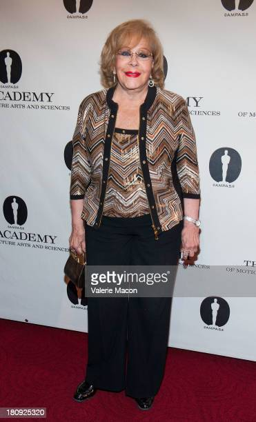 Actress Silvia Pinal attends The Academy Of Motion Picture Arts And Sciences Presents An Evening Honoring Iconic Mexican Cinematographer Gabriel...
