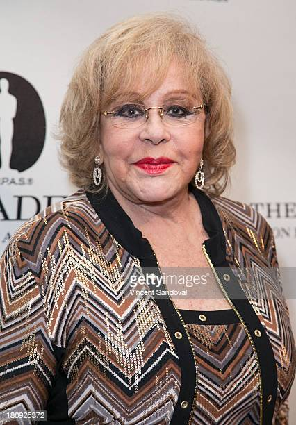 Actress Silvia Pinal attends Viva Figueroa The Academy honors iconic Mexican cinematographer Gabriel Figueroa at AMPAS Samuel Goldwyn Theater on...