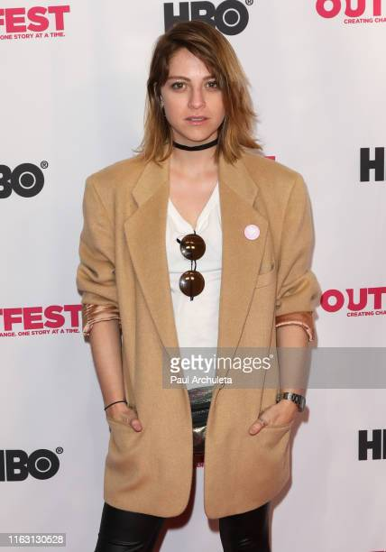 Actress Silvia Varon attends the screening of Second Star On The Right at the 2019 Outfest Los Angeles LGBTQ Film Festival at TCL Chinese 6 Theatres...