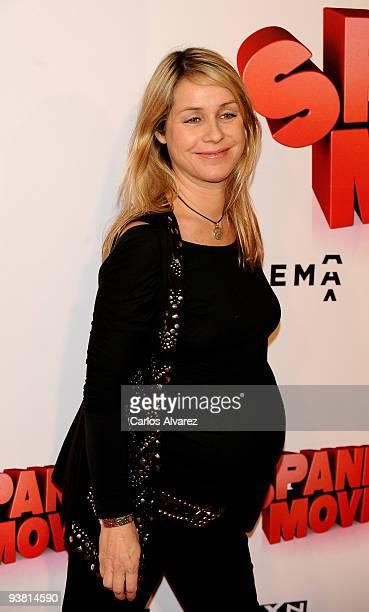 Actress Silvia Wheeler attends Spanish Movie premiere at Kinepolis cinema on December 3 2009 in Madrid Spain