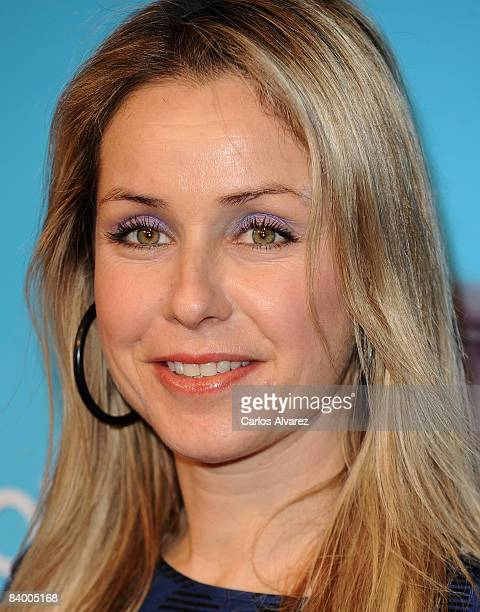 Actress Silvia Wheeler attends the premiere of Yes Man at Capitol Cinema December 11 2008 in Madrid Spain
