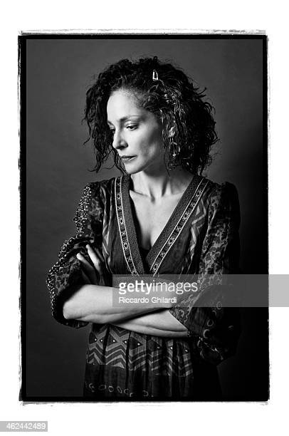 Actress Simona Cavallari is photographed for Self Assignment on April 29 2009 in Rome Italy