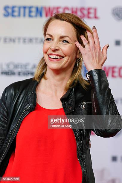 Actress Simone Hanselmann attends the Premiere of 'Seitenwechsel' at the Zoo Palast on May 24, 2016 in Berlin, Germany.