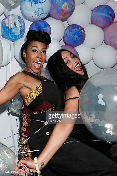 Actress Simone Missick and guest attend People's Ones to Watch event presented by Maybelline New York at EP LP on October 13 2016 in Hollywood...