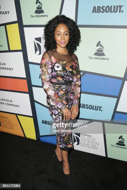 Actress Simone Missick attends 2017 Essence Black Women in Music at NeueHouse Hollywood on February 9 2017 in Los Angeles California