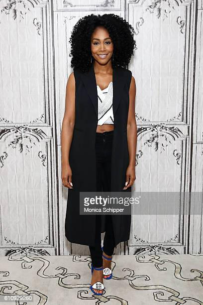 Actress Simone Missick attends BUILD Speaker Series Presents Simone Missick Discussing Marvel's Luke Cage at AOL HQ on September 28 2016 in New York...