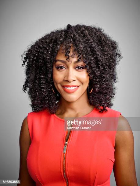 Actress Simone Missick from 'Marvels Luke Cage' is photographed for Entertainment Weekly Magazine on July 21 2016 at Comic Con in the Hard Rock Hotel...