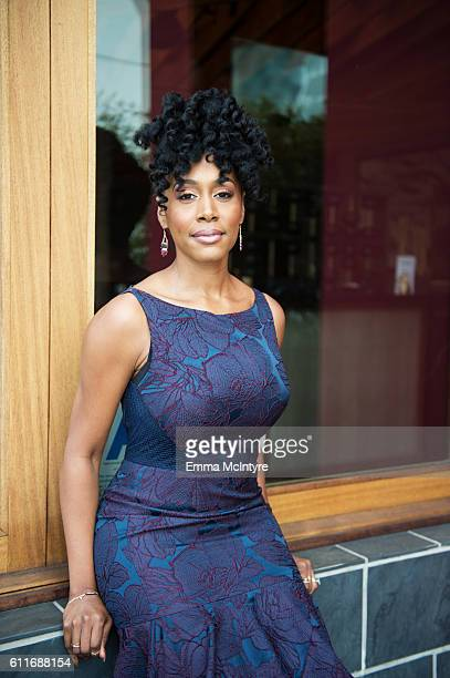 Actress Simone Missick is photographed for The Wrap at Roku on September 11 2016 in West Hollywood California