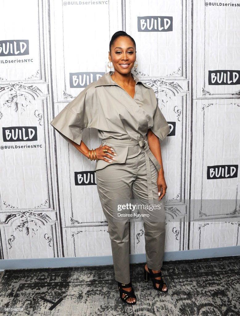Actress Simone Missick visits Build Series to discuss Marvel's 'Luke Cage' at Build Studio on June 22, 2018 in New York City.