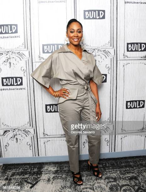 Actress Simone Missick visits Build Series to discuss Marvel's 'Luke Cage' at Build Studio on June 22 2018 in New York City