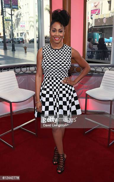 Actress Simone Missick visits Hollywood Today Live at W Hollywood on October 4 2016 in Hollywood California