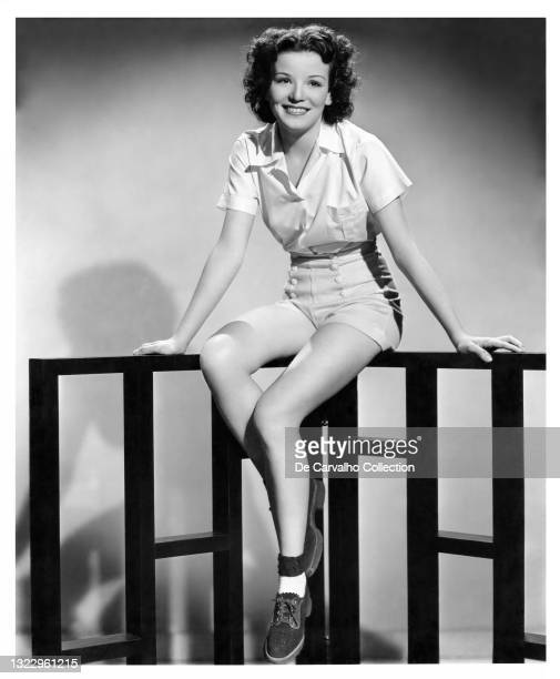 Actress, Singer and Dancer Nanette Fabray in a publicity shot from the late 1930's, United States.
