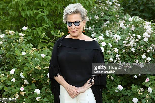 Actress singer and founder of NYRP Bette Midler attends the 2016 New York Restoration Project's Spring Picnic at MorrisJumel Mansion on June 1 2016...