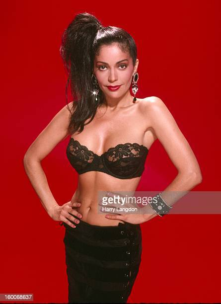 Actress singer and model Apollonia Kotero poses for a portrait in 1985 in Los Angeles California