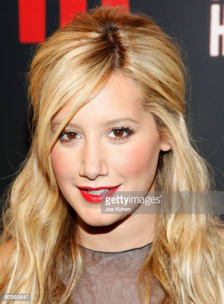 Actress / singer Ashley Tisdale attends M Magazine's 2009 Hollywood Halloween event at Marquee on November 11 2009 in New York City