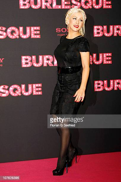 Actress singer Christina Aguilera attends the photocall of 'Burlesque' at Hotel Adlon on December 16 2010 in Berlin Germany