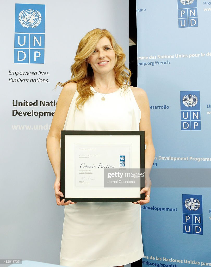 Connie Britton Announces Her Appointment As UNDP Goodwill Ambassador For Poverty Eradication And Women's Empowerment