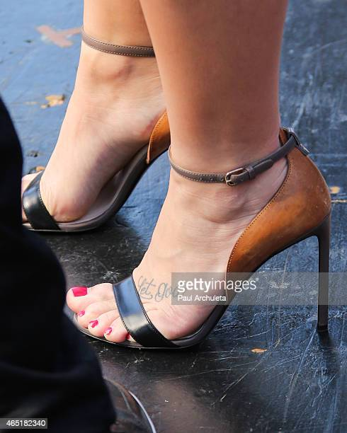 Actress / Singer Demi Lovato is seen at Universal CityWalk on March 3 2015 in Los Angeles California
