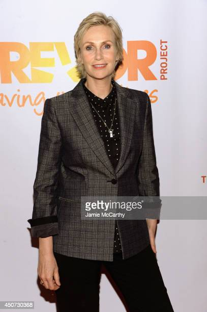 Actress singer Jane Lynch attends the Trevor Project's 2014 'TrevorLIVE NY' Event at the Marriott Marquis Hotel on June 16 2014 in New York City