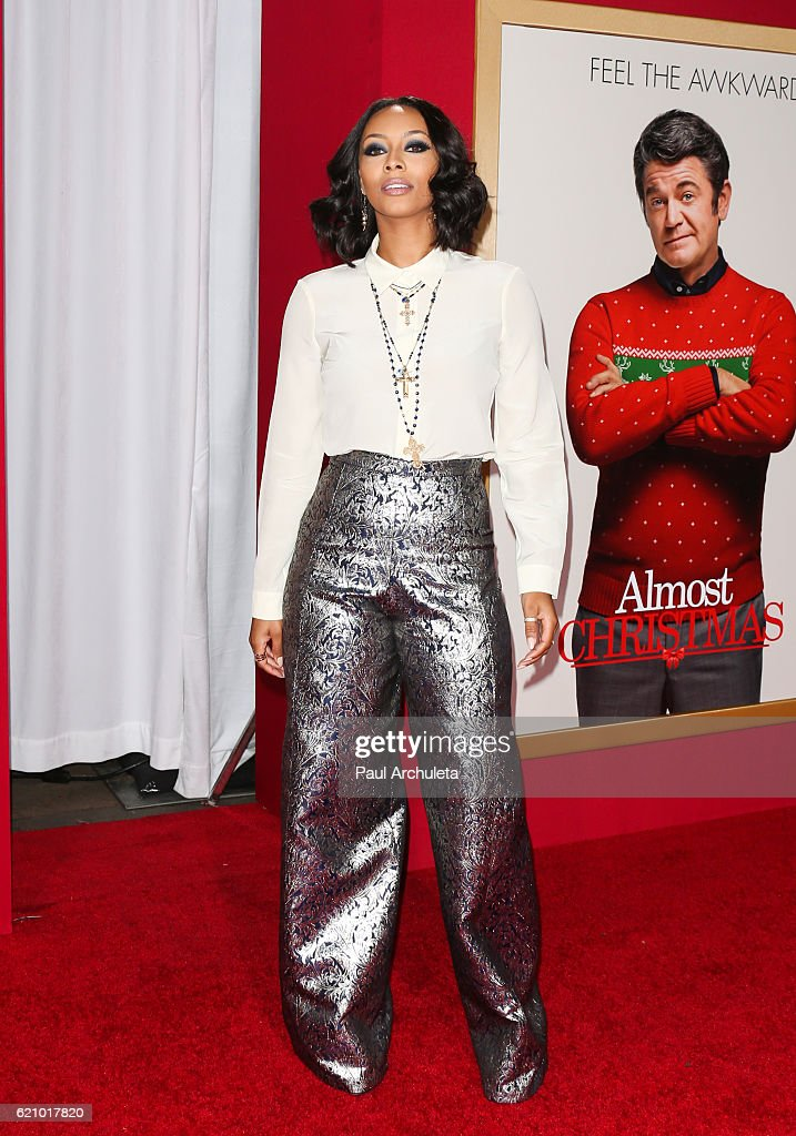 Actress / Singer Keri Hilson attends the premiere of \'Almost... News ...