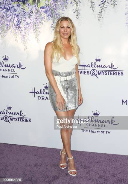 Actress / Singer LeAnn Rimes attends the 2018 Hallmark Channel Summer TCA at Private Residence on July 26 2018 in Beverly Hills California