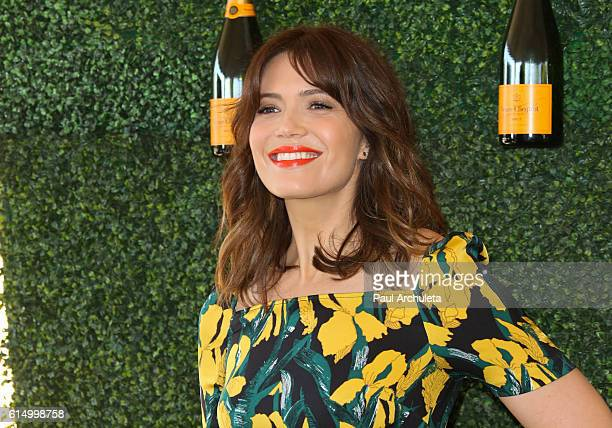 Actress / Singer Mandy Moore attends the 7th Annual Veuve Clicquot Polo classic at Will Rogers State Historic Park on October 15 2016 in Pacific...