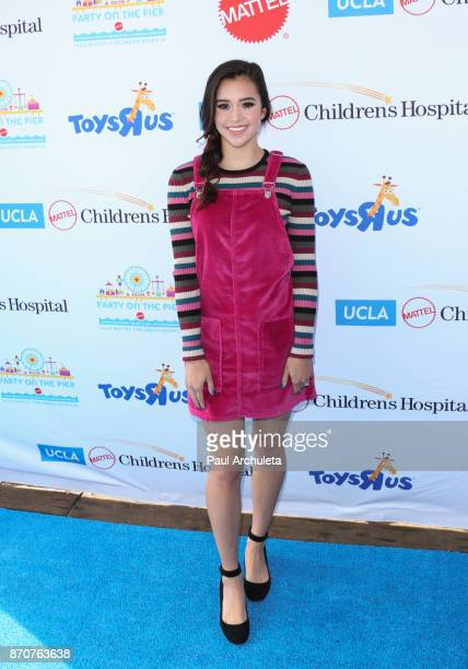 Actress / Singer Megan Nicole attends the 18th annual Mattel Party On The Pier at Pacific Parkâ Santa Monica Pier on November 5 2017 in Santa Monica...