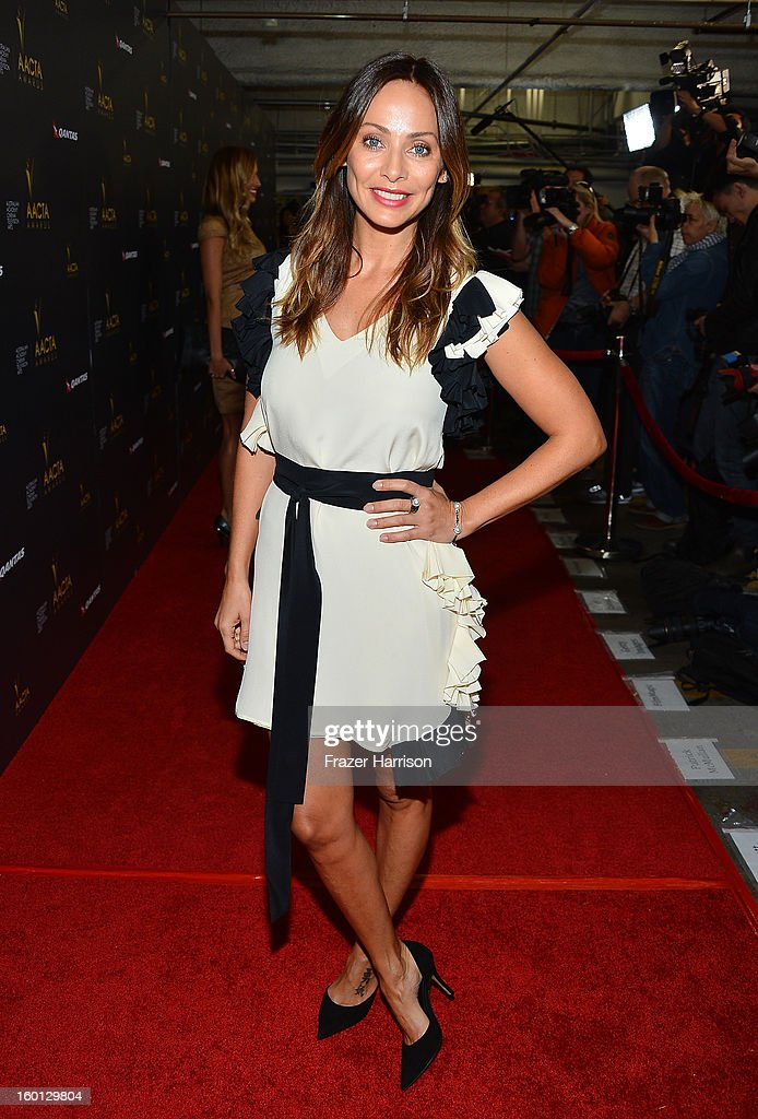 Actress/ Singer Natalie Imbruglia arrives at the 2ND AACTA International Awards at Soho House on January 26, 2013 in West Hollywood, California.