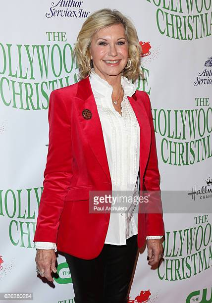 Actress / Singer Olivia Newton-John attends the 85th Annual Hollywood Christmas Parade on November 27, 2016 in Hollywood, California.