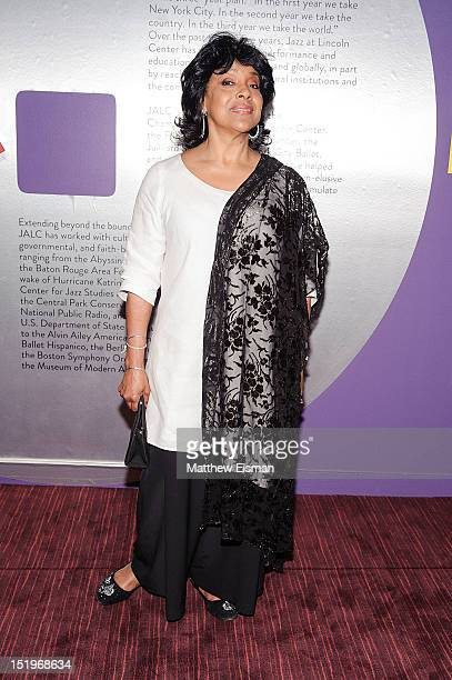 Actress/ singer Phylicia Rashad attends the Jazz at Lincoln Center 25th Anniversary season opening night at Jazz at Lincoln Center on September 13...
