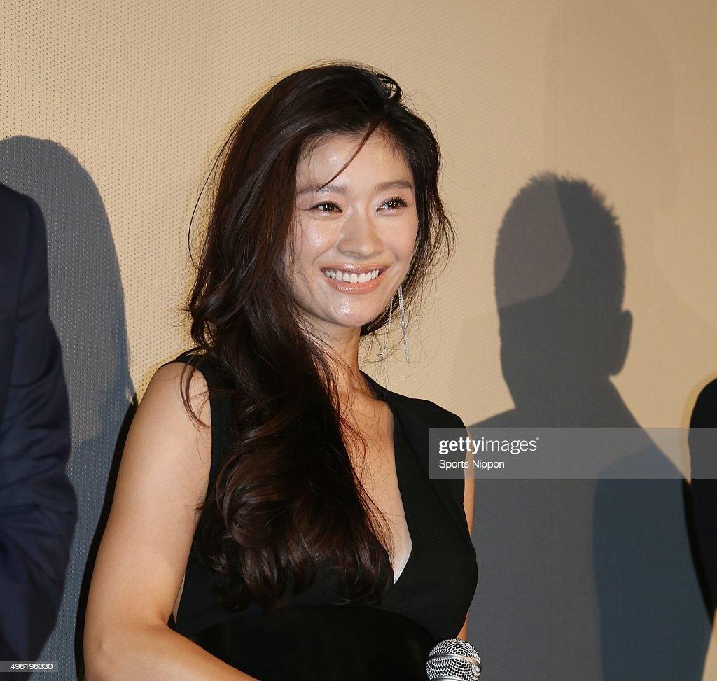 Ryoko Shinohara Attends Press Conference In Tokyo : ニュース写真
