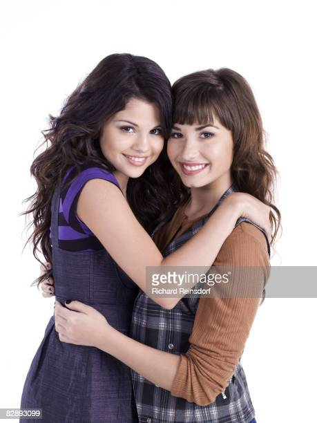 Actress/ singers Selena Gomez and Demi Lovato pose for a portrait session in Los Angeles for Teen Magazine on May 10 2008