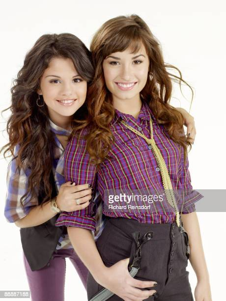 Actress/ singers Selena Gomez and Demi Lovato pose for a portrait session in Los Angeles for Teen Magazine on May 10 2008 COVER IMAGE