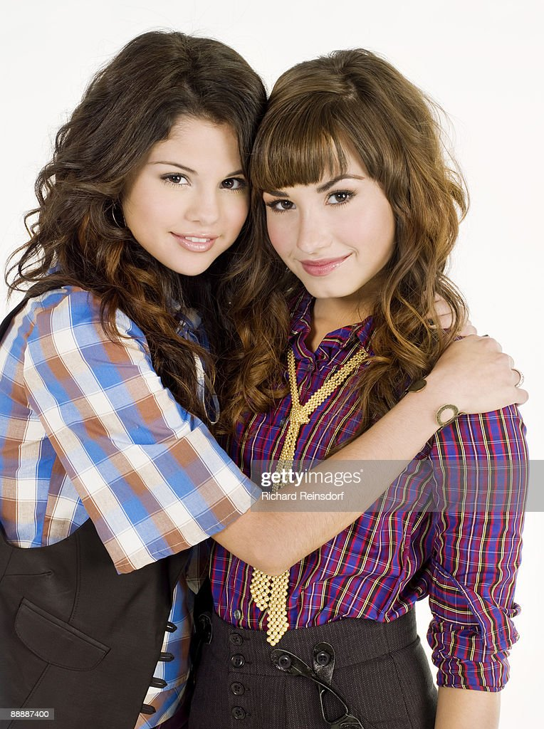 Demi lovato and selena gomez by richard reinsdorf for teen actress singers selena gomez and demi lovato pose for a portrait session in los angeles voltagebd Gallery