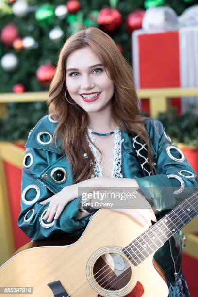 Actress singersongwriter and model Serena Laurel attends The Salvation Army Celebrity Kettle Kickoff Red Kettle Hollywood at the Original Farmers...