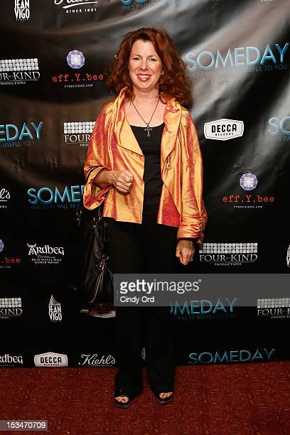 Actress Siobhan Fallon attends the 'Someday This Pain Will Be Useful To You' New York Screening at Village East Cinema on October 5 2012 in New York...