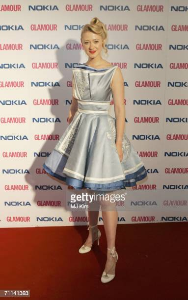 Actress Siobhan Hewlett arrives at the Glamour Women Of The Year Awards the annual awards recognising the achievement of women with categories...