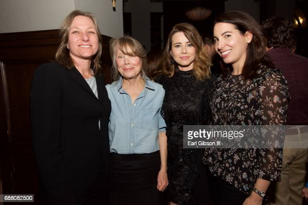 Actress Sissy Spacek and actress Linda Chandler attend the Premiere Of Netflix's Bloodline Season 3 on May 24 2017 in Culver City California