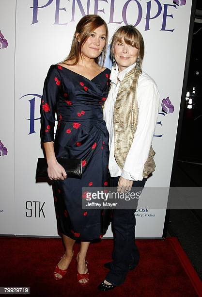 Actress Sissy Spacek and daughter/actress Schuyler Fisk arrive at the Penelope premiere at the Directors Guild of America Theater on February 20 2008...